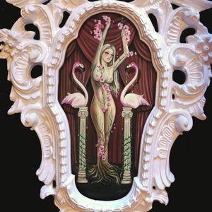 Rooted by Claudia Ducalia (via IG-claudia_ducalia) #fineart #artshare #tattooartist #oilpainting #ClaudiaDucalia