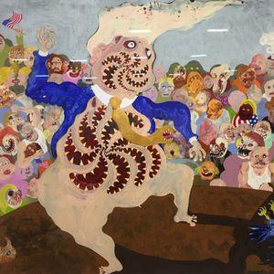 Aaron Johnson's Trump #art #artonpaper #AaronJohnson #DonaldTrump