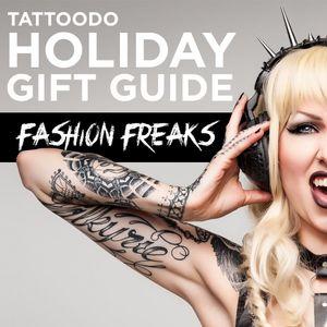Tattoodo Holiday Gift Guide: Fashion Freaks #Holiday #Gifts #GiftGuide #Fashion #Christmas #Hanukah