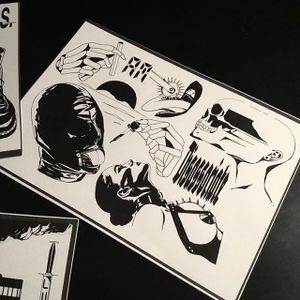 Fantastic flash sheet by Louis Loveless. (via IG—louis.loveless) #LouisLoveless #FlashFriday #Flash #Blackwork