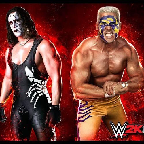 WCW and WWE legend Sting #WWE #wrestling #bodypaint #facepaint #bodyart #makeup #Sting