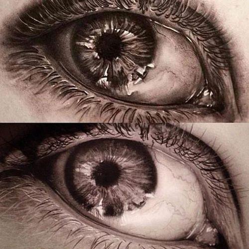 #nikinorberg #blackandgrey #realistic #eyetattoo