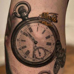 #nikinorberg #wickedtattoo #watch #realistic #3dtattoo