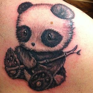 Baby panda bear done by Ryan #9MAG