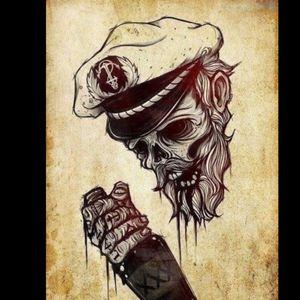 #skeleton #calabash #death #blackandwithe