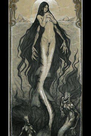 Siren tattoo idea