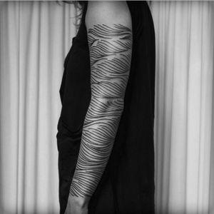 Artist #VictorJWebster#pattern #linework #sleeve