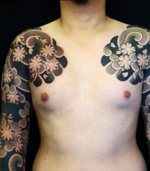 #japanesetattoo #irezumi #horimono #tattoos #tattoouk #tattoolondon #lucaortis #tattoooftheday