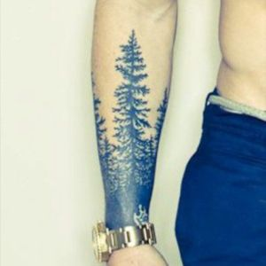 Forest tree tattoo #forest #tree