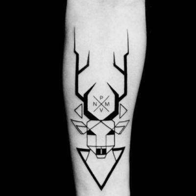 #blackwidow#deer#initials