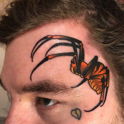 Spider face! #facetattoo #spider #tattoo #tattoodoambassador