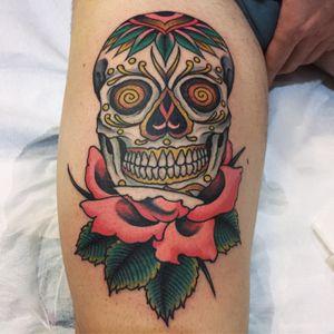 #nicksalvetti #romaclassictattoing #romatattoo #italiantraditionaltattoo #topclasstattooing #tradworkerssubmission #bright_and_bold #oldlines #americanatattoos #TTTpublishing #realtattoos #besttradtattoos #classictattoo #ink #inked #vintagetattoo #oldschooltattoo #tattoo #traditional #traditionaltattoo #tattooflash #trflash #snowboard #snowboarding #sugarskull #sugarskulltattoo #skull #skulltattoo #rose