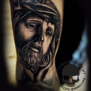 #jesus #blackandgrey #intenze #stigmarotary #stigmaprodigy #
