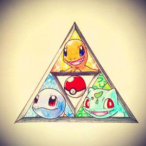 #pokemon #legendofzelda #triforce #drawing