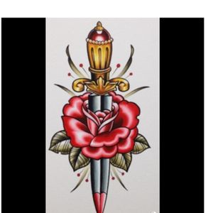 Absolutley love this 👌🏻 would love it done 😁🙌🏻 #megandreamtattoo #oldschool #dagger