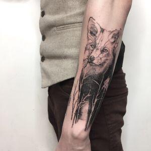 #fox #foxtattoo #animal #sketch #sketchtattoo #sketchstyle #fineline #fineart
