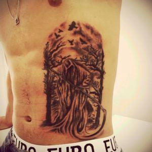 #morte #lamuerte #tattoo #jeffinhotattow
