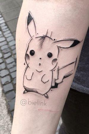 #pikapika #pikachu ! #pokemon #pokemontattoo #poland #polandtattoos #onlyblack #blackink