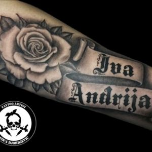 #tattoo#tattooink #tattooroses #blacktattooart
