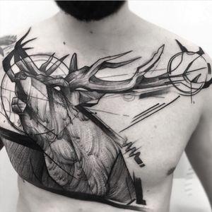 #FrankCarrilho #sketch #moose #deer
