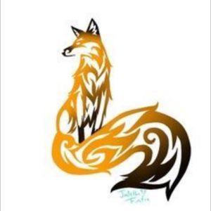 #megandreamtattoo celtic fox