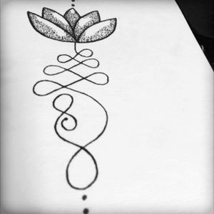 Buddhism, Lotus, Tattoo Design