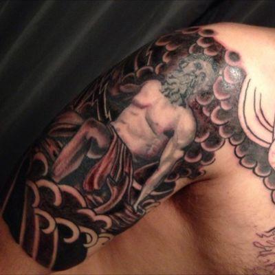Poseidon grrek god #Poseidon