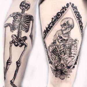 #skull #skulltattoo #skeleton #squelette #scheletro #teschio #skulls #tattoo #tattoing #tattoist #tattooed #tattoos #tatuaggio #tatouage #crane #bones