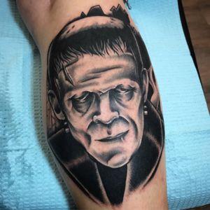 #frankenstein #tattoooftheday