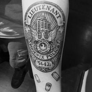 Arizona Lieutenant badge
