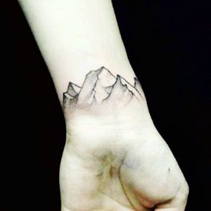 #mountains #bw