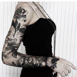 #rose #blackroses #flowers #sleeve