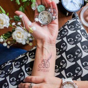 Roman numerals #minitattoo #minimalismtattoo #smalltattoo #smaltattoos #tinytattoo #tinytattoos #minimalism #tattoo #tattoogirls #tattoographic #linework #lineworktattoo #Fineline #finelinetattoo #fineLineTattoos #alisovatattoo #AlisaAlisova