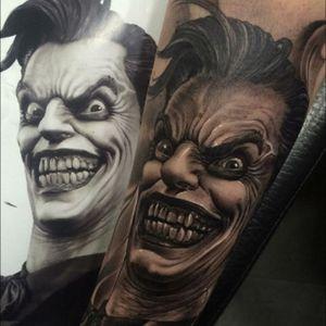 #blackandgrey #realism #crazy #man #scary - #tattooartist #tattedterritory  @tattedterritory