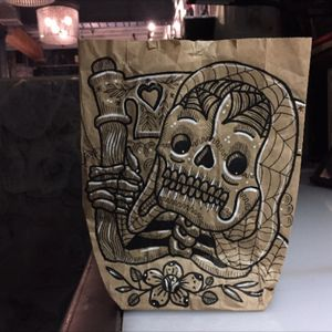 NYC Brownbag Reaper. #100percentorganicpenny #MorgwnPennypacker