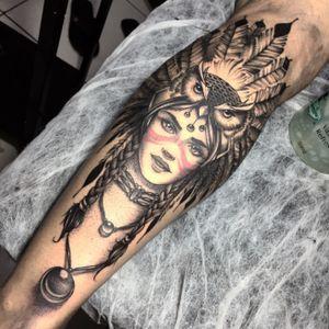 India. #tattoo #tatuagem #tatuaje #ink #inkaddicts #inkaddict #art #arts #cacoal #brazil #lucaslock #me #artistic #illustration #yes #tattoer #tattooartist