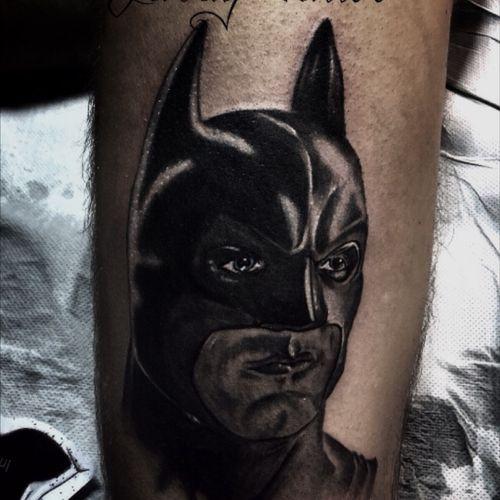 Batman #batmantattoo by #gardytattoo #realistictattoos