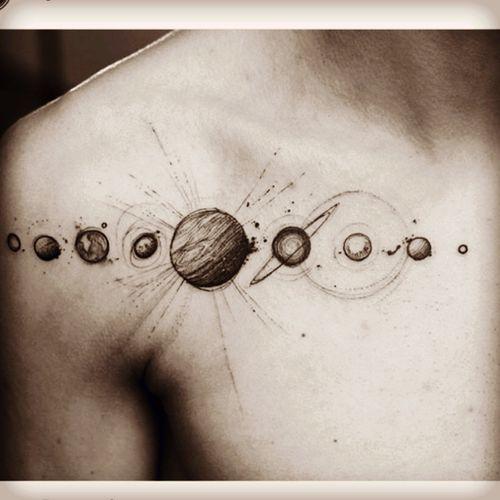 #planets #solarsystem #collarbone