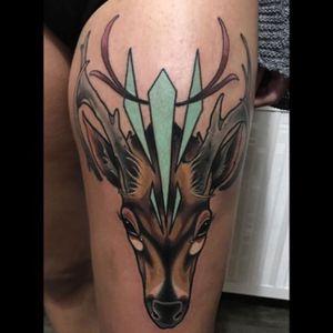 #BrianPovak @brian_povak #deer #upperleg #color #welove