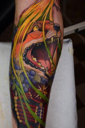 Fox coverup! #tattoo #fox #coverup #tattoodoambassador