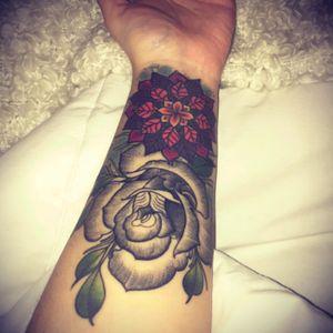 #armtattoos #rose