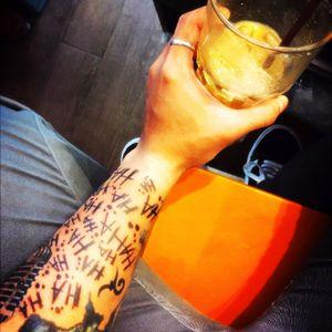 My new Tattoo. #HAHAHA!!