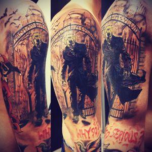 #thejoker #tattoo #color #sleve