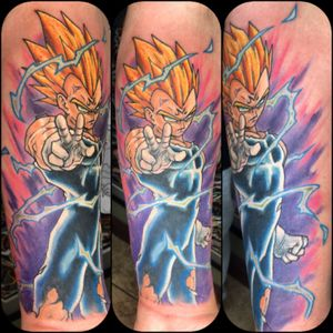 Vegeta from Dragon Ball Z by Dave Lopez