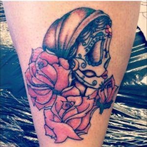 #gypsygirl #roses #skull