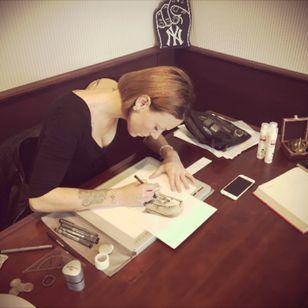 #mommyimsorry #workinprogress #detail #blackandgrey #religious #Madonna #girl #femaletattooartist