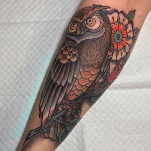 #neotraditionalowl i made #forearmtattoo #colortattoo #owltattoo #owl   •For appointments and availability info text or call 323-422-5806   •Tattooed using @eternalink  #eternalink #blackclawneedle @blackclaw #reaperrotary @reapermachine #dringenberg @dringenbergtattoocompany  #neotat @neotatmachines #hivecaps @hivecaps . . . #tattooworkers  #tattooer #tattoosnob #tattoo #skinart #tattooartistmagazine  #inkedmag #losangeles #california #northhollywood #northhollywoodtattoo #burbanktattoo #studiocity #art #tattooart #burbank #tattooart #inksociety #ladytattooers #femaletattooartist #deidgedunham #travelingtattooer