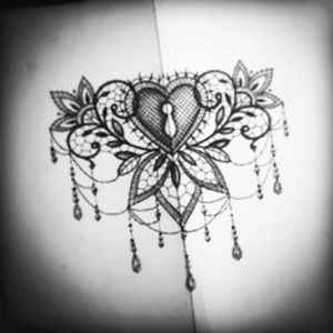 I would love this under my breasts. #meagandreamtattoo