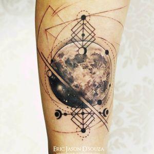 #ericjason #moon #geometric #sketch