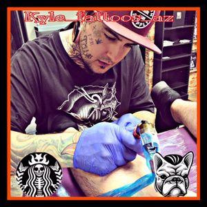 Me tattooing! #tattoo #traditionalart  #arizonatattooartist